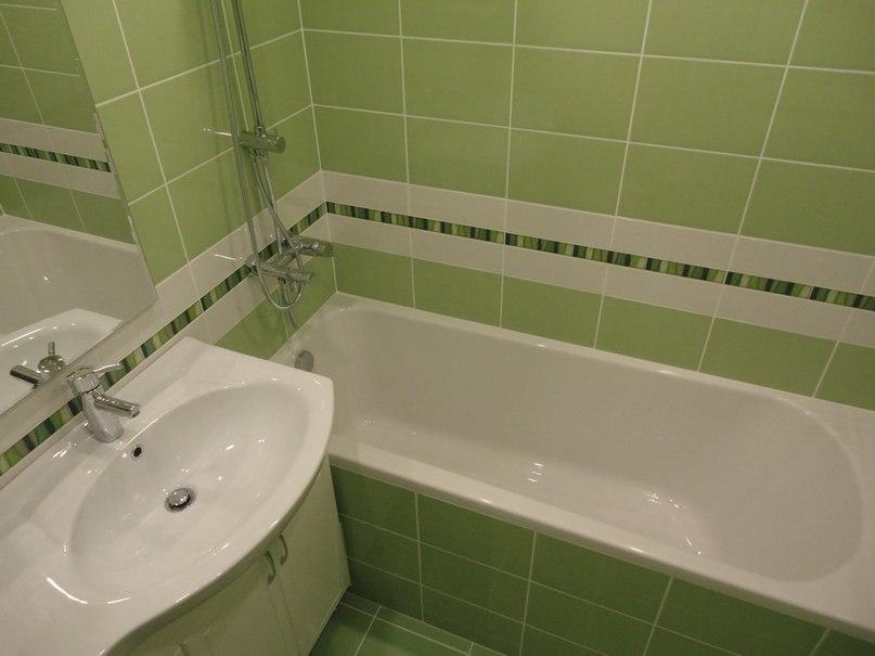 Косметический ремонт в ванной своими руками